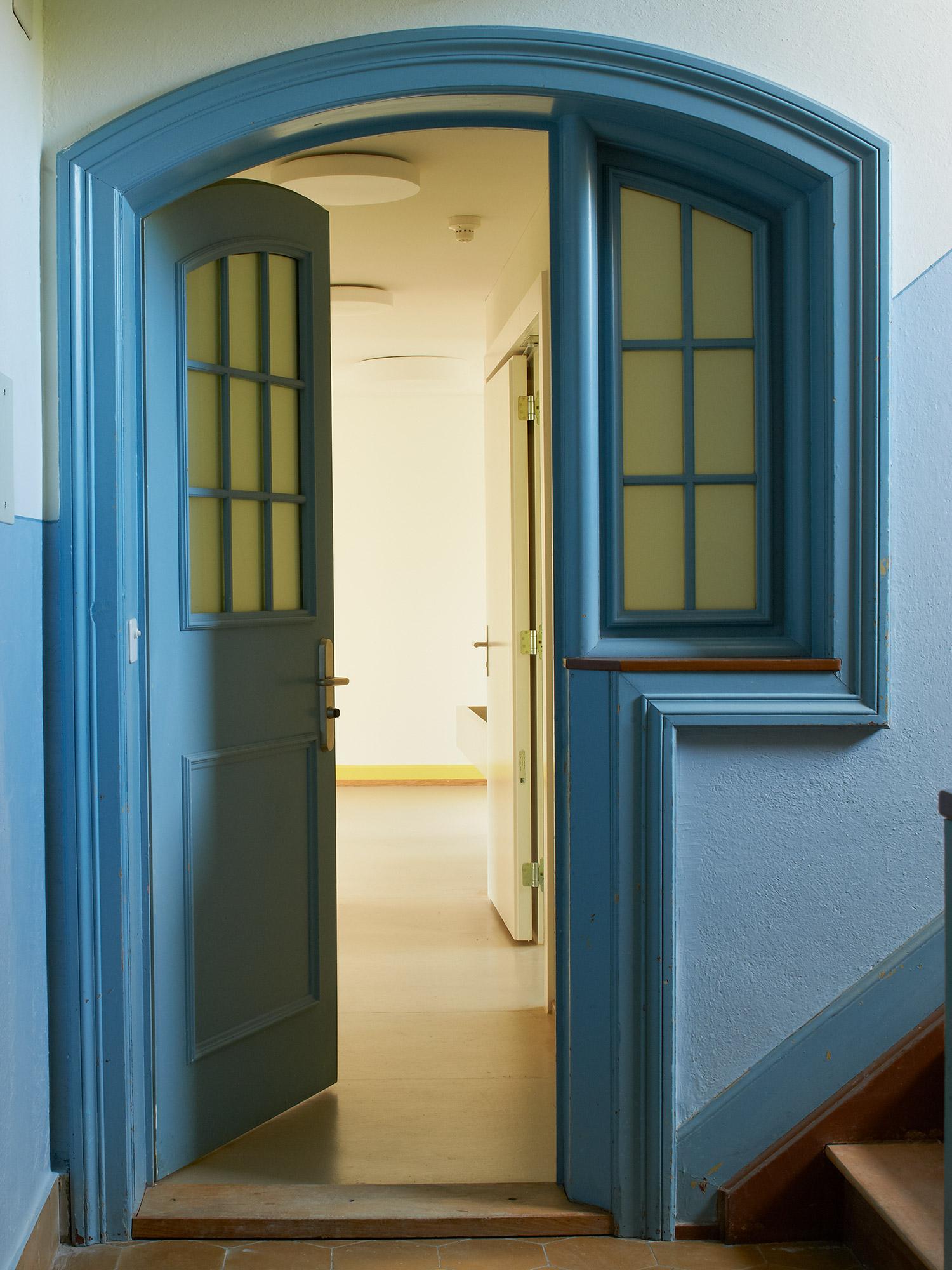 Eingang in eine Wohnung